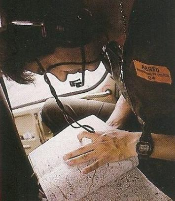 Investigador Abreu, do SAT. Numa época onde ainda não existia o GPS, os velhos mapas ajudavam na movimentação pela cidade, em 1987.
