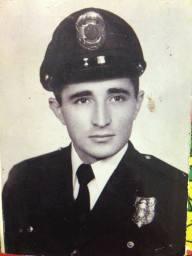 Guarda Civil Gilberto Xavier da Cunha, na década de 60.