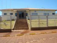 Delegacia de Polícia da cidade de Arandú/SP.