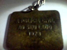 Chaveiro da Polícia Civil de 1.928 (enviado pelo Investigador de Polícia Fábio Tadashi).