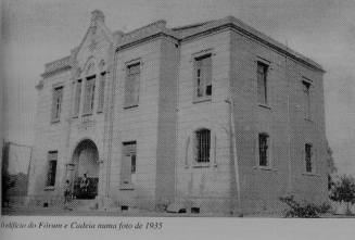 Cadeia Pública e Forum da cidade de Piracaia/SP, em 1.935.