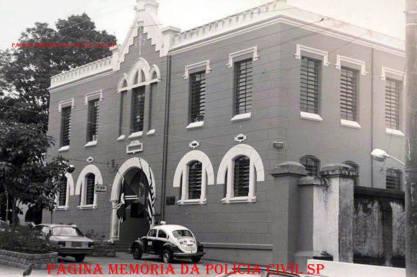 Cadeia Pública de Bebedouro na década de 80. Atualmente Cadeia e 1º DP.