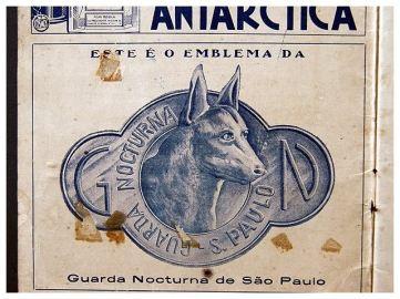 Emblema da Guarda Noturna de São Paulo.