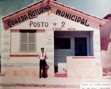 Antigo Posto da Guarda Noturna, Avenida São Paulo - Paulicéia/SP.