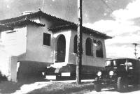 Delegacia de Polícia da cidade de Lucélia/SP, em 1.955.