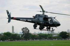 GER e SAT em Operação no helicóptero Pelicano da Polícia Civil, em 1.990.