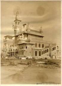 Palacio das Industrias, no Parque Dom Pedro, onde abrigou por muito tempo a sede de DEGRAN, quando ainda estava em construção na década de 20.