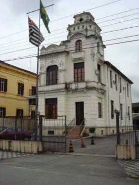 Antiga Sede da Polícia Marítima em Santos.