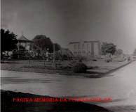 Cadeia velha do município de Santa Cruz do Rio Pardo/SP, na Praça da República, década de 40