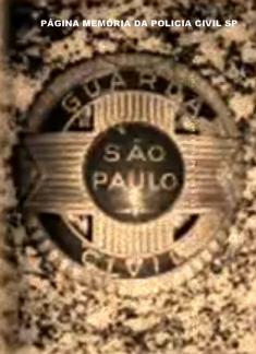 Distintivo da extinta Guarda Civil.