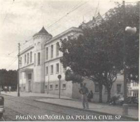 Delegacia de Polícia do Município de São Carlos, em 1957.