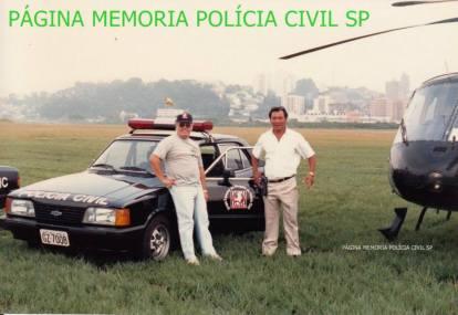 Dois notáveis Investigadores de Polícia da Delegacia de Roubos do DEIC, nas décadas de 70, 80 e 90, Edson Champi e Oscar Matsuo.