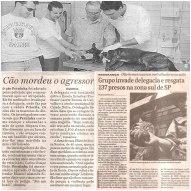 A ocorrência desta reportagem se refere a um resgate de presos ocorrido no 48º DP, em maio de 2000,