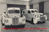 Ambulâncias da Assistência Policial do Estado de São Paulo,década de 50. https://www.facebook.com/MemoriaDaPoliciaCivilDoEstadoDeSaoPaulo/