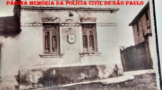 """Antiga Subdelegacia de Bonsucesso, em Guarulhos. (Acervo do Investigador Mario Benedito Pinheiro """"Nazaré"""""""