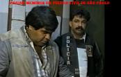 Investigadores Jose Xavier De Brito Filho e Alex do GARRA, em 1.991.