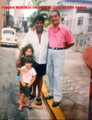 """Investigadores Jose Xavier De Brito Filho e Wilson Rodrigues """"Wilson Pepa"""" (foi chefe da 4ª Delegacia da DISCCPAT- DEIC (Kilo), no início dos anos 80."""