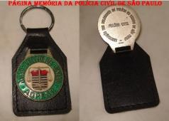 Chaveiro da ADPESP- Associação dos Delegados de Polícia de São Paulo, década de 90.