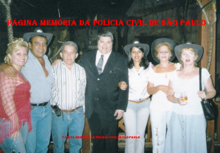 Investigadores Cristina Silva, Osvaldinho Santos; Delegado Itagiba Franco; Reporter Policial José Luiz Datena; e Escrivã Roselaine Francisco.