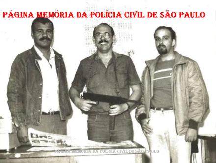 5ª Delegacia de Roubo a Bancos da DISCCPAT- DEIC (Kilo), na década de 80.