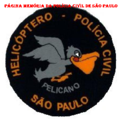 Dístico do Serviço Aerotático - SAT, da Polícia Civil.