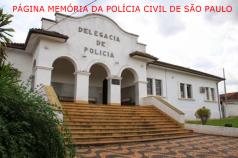 Prédio da Delegacia de Polícia Sede do Município de Cafelândia/SP.