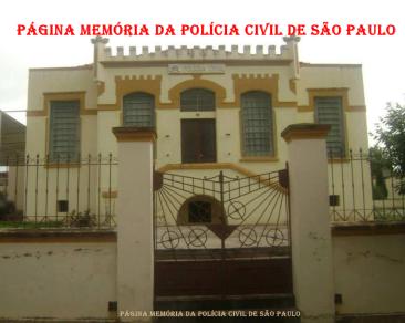 Delegacia de Polícia do Município de Fartura/SP, construida no começo do século passado.