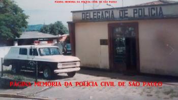 Delegacia de Polícia do Município de Nazaré Paulista, em 1.995. (Acervo do Delegado Jose Antonio Conceição e enviado pelo Investigador Mario Benedito Pinheiro).