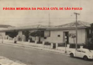 Delegacia de Polícia do Município de Lucélia, década de 60.