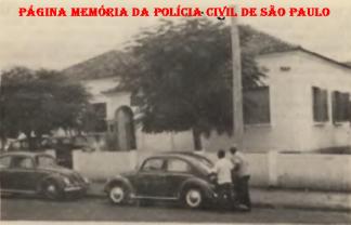 Delegacia de Polícia Seccional de Andradina, na década de 60.