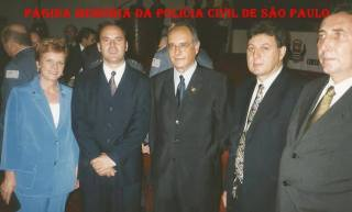 Delegados Rosemary Correa, Francisco Rodrigues Alves e Marco Antônio Desgualdo; Advogado Lattanzi e Delegado Paulo Roberto de Queiroz Motta, em meados dos anos 90. https://www.facebook.com/MemoriaDaPoliciaCivilDoEstadoDeSaoPaulo/photos/a.299034823552429.68610.282332015222710/1346306545491913/?type=3&theater
