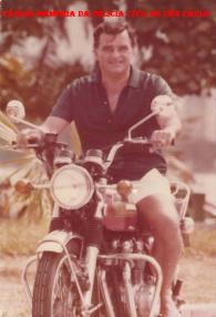 """Delegado Paulo de Almeida Vinhas """"in memorian"""", ícone da Polícia Civil de São Paulo, nas décadas de 50, 60, 70 e 80."""