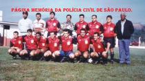 Equipe de futebol do DHPP, no início da década de 90. No comando Ronaldo Pantera Lopes e o saudoso Delegado Euclides, Investigadores Marião, Milton, Osvaldinho, Toquinho e Osvaldo.