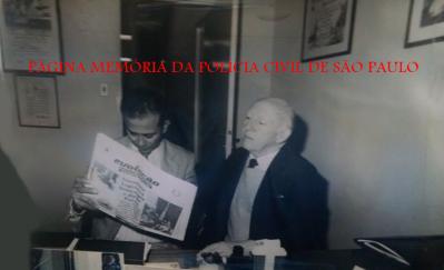 Escrivães Jarim Lopes Roseira e Adalberto da Costa Sampaio, que foi Escrivão-Chefe da antiga Delegacia de Roubos. Adalberto foi professor, escritor, teólogo e participou das diretorias da AEPESP (gestão Professor Jari m - 1985/88 e AFPCESP, gestão Parada Neto), no início da década de 80. https://www.facebook.com/MemoriaDaPoliciaCivilDoEstadoDeSaoPaulo/photos/a.372880226167888.1073741849.282332015222710/810634182392488/?type=3&theater