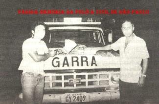 GARRA (anos 80). Investigadores Shiro e Nazario.