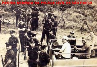Um dos últimos trabalhos realizado pela extinta Guarda Civil da Polícia do Estado de São Paulo, no Vale da Ribeira, em meados de 1.970.
