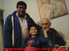 O Lendário Investigador do Kilo Geraldo Jacareí, aos 85 anos de idade e Jose Xavier De Brito Filho.