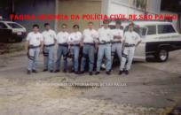 Equipe do GOE- Grupo de Operações Especiais do DECAP, em 1.993.