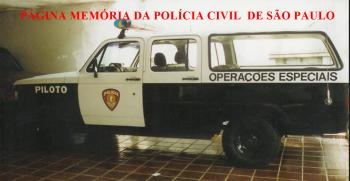 Viatura do GOE- Grupo de Operações Especiais do DECAP, década de 90.