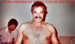 """O saudoso Investigador José Eugênio Graziolli. """"Zeco Bode"""" de Porangaba, um dos melhores policiais da história da Delegacia de Roubos do DEIC """"Kilo"""", nas décadas de 60, 70 e 80. Acervo do Investigador Mario Benedito Pinheiro """"Nazaré."""