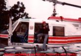 No sequestro do joalheiro português Américo Moreira Santos, como a Polícia não tinha ainda o Pelicano, o Governador cedeu seu helicóptero para ser usado, em 1.983. Na foto, o Investigador Osvaldo Jose Dos Santos, um dos policiais que participaram na elucidação do delito.