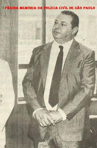 Delegado de Polícia Diretor da DISCCPAT- DEIC (Kilo), na década de 80, Jorge Miguel.