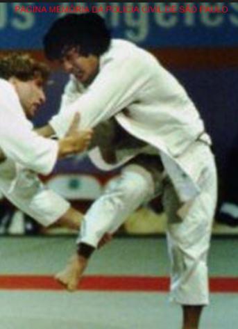 Investigador de Polícia Luís Yoshio Onmura, medalha de bronze na Olimpiada de Los Angeles- USA, em 1984. Foi convidado para carregar a tocha, nos jogos olímpicos RJ- Brasil, em agosto de 2.016.
