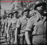 MP (Military Police) da Força Expedicionária Brasileira, que atuaram durante a 2ª Guerra Mundial na Itália, na década de 40. Esta tropa de elite era formada exclusivamente por integrantes da extinta Guarda Civil da Polícia do Estado de São Paulo.
