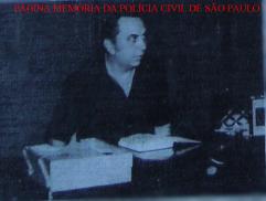 Chefe dos Investigadores do GARRA, no final da década de 70, Osvaldo Brancácio.