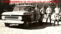 Integrantes da extinta Polícia Rodoviária do Estado de São Paulo, na década de 60.