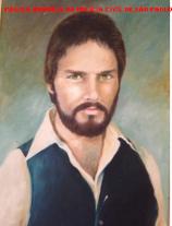 Antigo retrato de parede do saudoso Investigador de Polícia, depois Delegado José de Freitas Mendonça, um ícone da Delegacia de Roubos do DEIC.