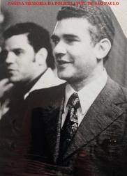 """Investigadores Josmar Bueno """"Joe"""" e o saudoso Sávio Fernandes Monte, da DISCCPAT- DEIC- """"Kilo"""", em meados da década de 70. Acervo do filho Paulo Monte."""