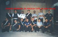 Equipe do extinto SOE- Setor de Operações Especiais do Denarc em 2002, quando foi remodelado com investigadores recém saídos da ACADEPOL. (Acervo do Investigador Eduardo Pitta).