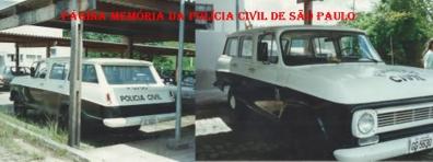 Viatura Chevrolet- Veraneio, década de 80.